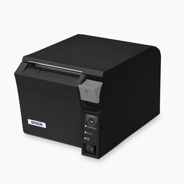 Imprimante Epson TM-T70II, USB, Ethernet